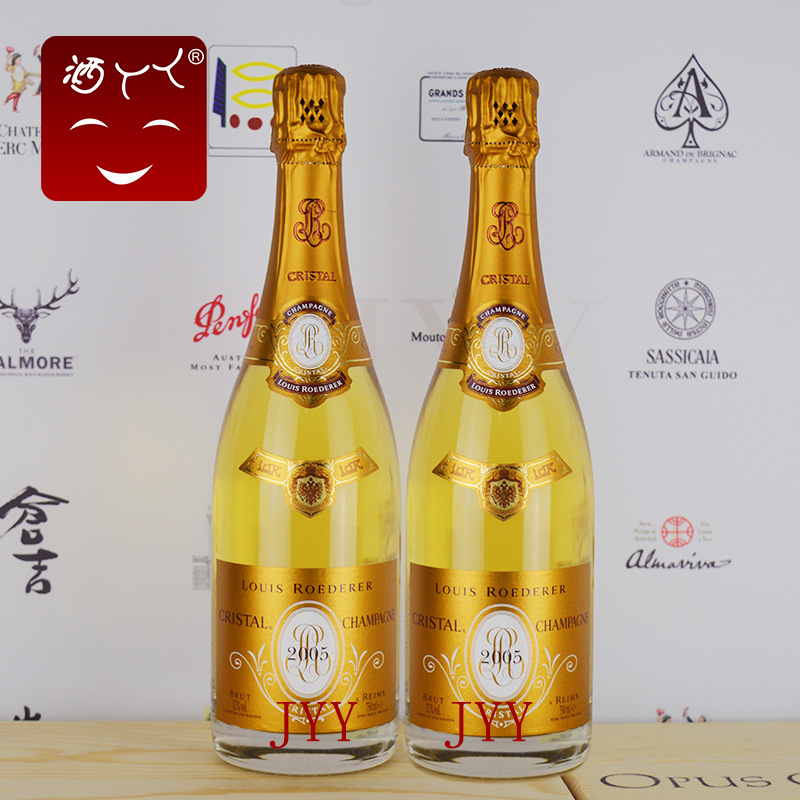 法國2005路易王妃水晶香檳 Louis Roederer Cristal